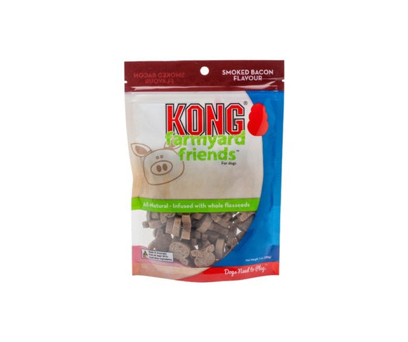 Kong Farmyard Friends Smoked Bacon Biscult Treats