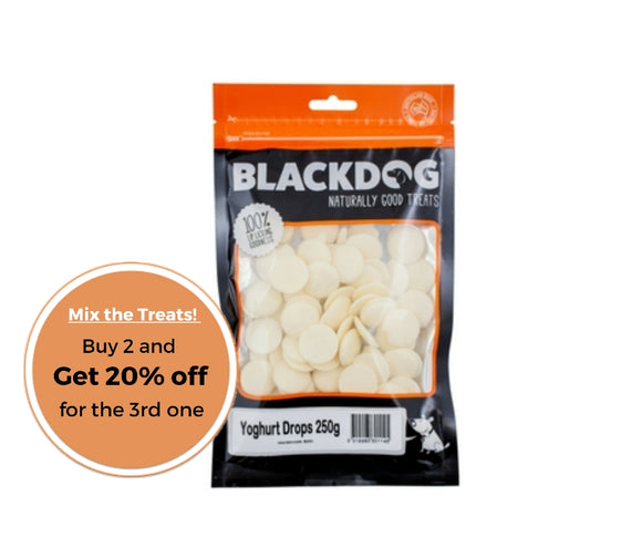BLACKDOG Yoghurt drops 250g
