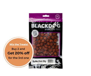 BLACKDOG Roo meat balls 250g