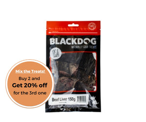 BLACKDOG Beef Liver 150g