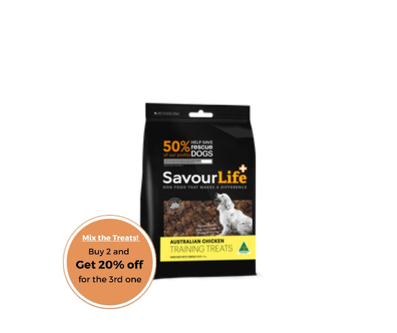SavourLife Australian Chicken Training Treats 165g