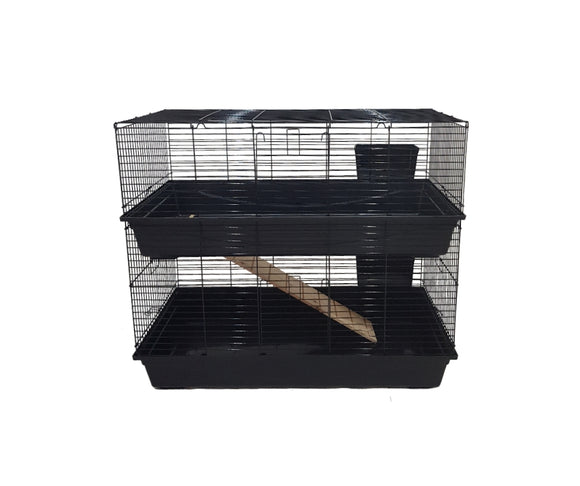 2 Storey Large Indoor Cage