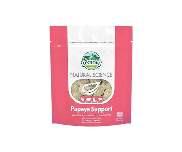 Oxbow Natural Science Papaya Support 1.16oz