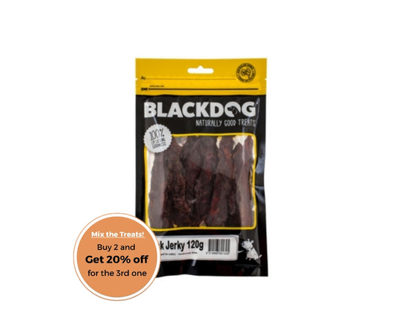 BLACKDOG Duck Jerky 120g