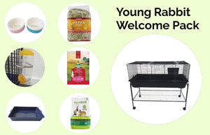 Young Rabbit Welcome Pack --120cm cage with Stand