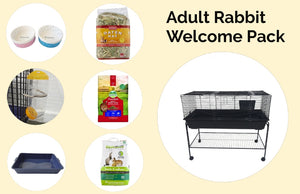 Adult Rabbit Welcome Pack --120cm cage with Stand