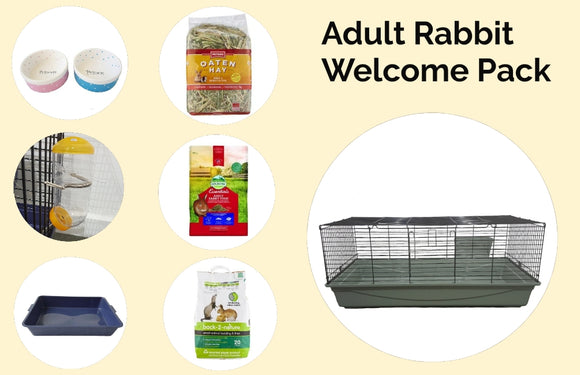 Adult Rabbit Welcome Pack --120cm cage
