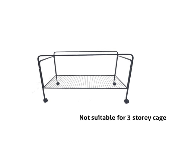 Stand on wheels for 120cm cage