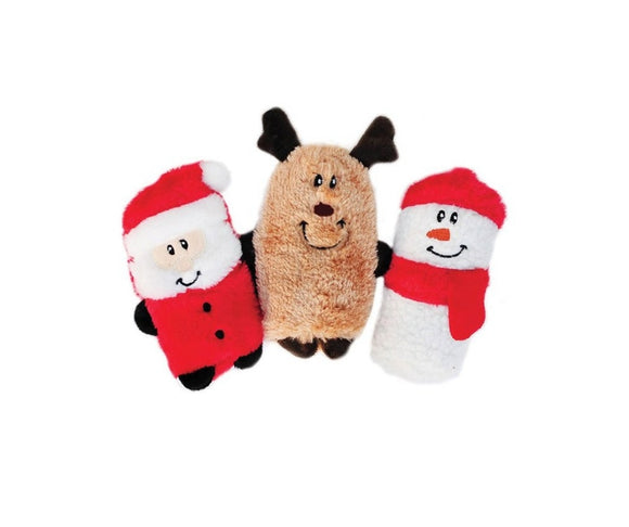 Zippypaws Squeakie Buddies 3pk