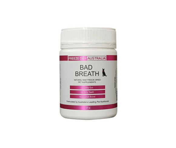 Freeze Dried Australia Supplement --Bad Breath