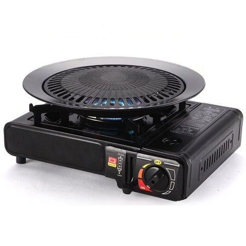 Image of Korean BBQ Gas Grill & Plate