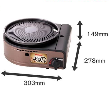 Smokeless Korean Barbecue Grill and Plate