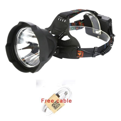 Image of Super Bright 15000LM USB Rechargeable LED Headlamp