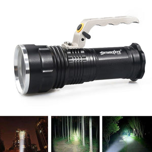 4000LM Rechargeable Police Tactical LED Flashlight