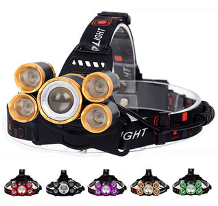 LED Headlamp 50000LM