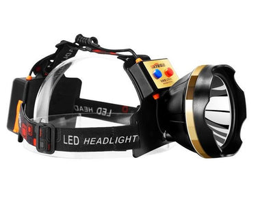 USB LED Super Bright Head Light 1500m Range