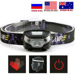 Mini Rechargeable LED Headlamp 4000LM