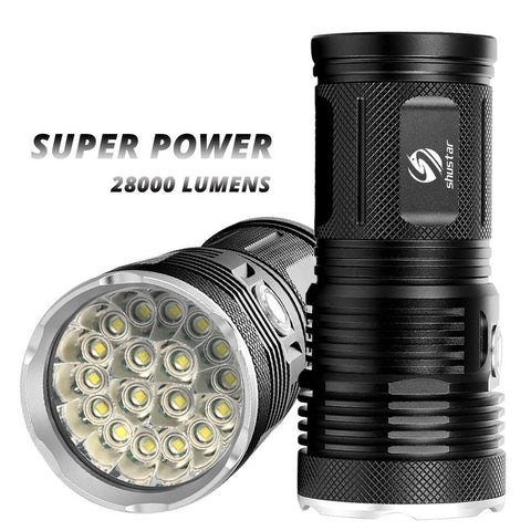 Image of High Power LED flashlight 30000 Lumens