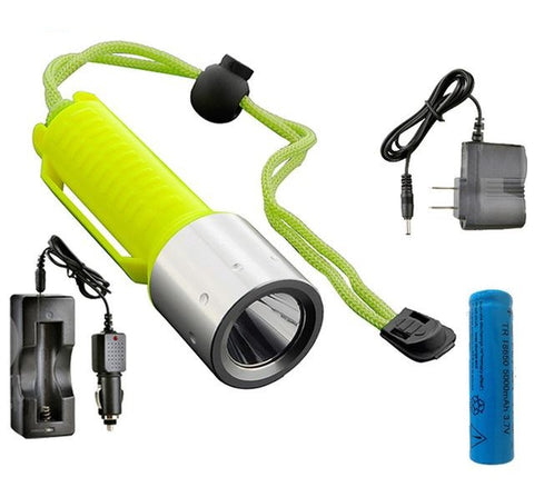 Image of LED Scuba Diving Flashlight T6 2000LM