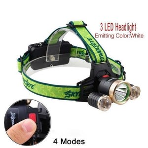 USB Rechargeable 32000 LM LED Headlight