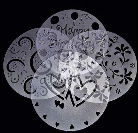 Cake Stencils Mold Decorating Accessories - Cyber Zone Online