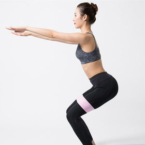 can you grow your glutes with resistance bands?