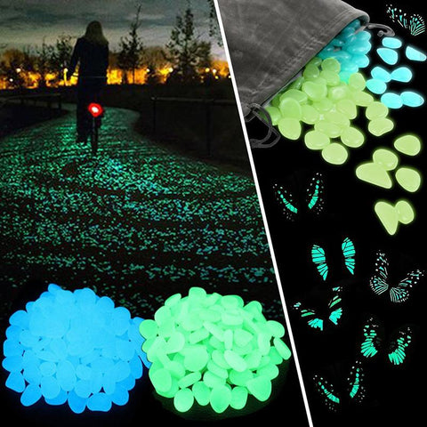 Image of Nice Aquarium and Pathway Decorative Glow Stone - Cyber Zone Online