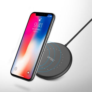 Mini Wireless Charger - Samsung/Iphone - Cyber Zone Online