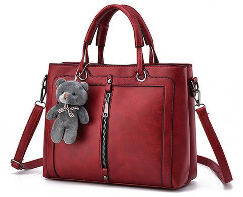 Luxury Women Leather Handbag - Cyber Zone Online