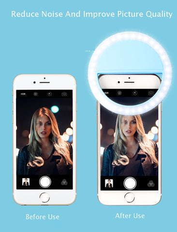 Image of Portable Selfie Ring Light for Phone