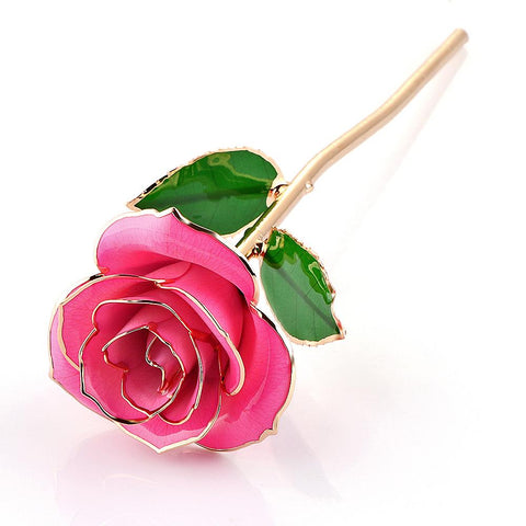 Image of 24K Gold Trimmed Forever Rose - Cyber Zone Online