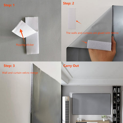 Home Projector Screen Curtain