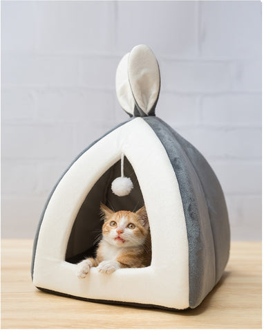 Image of Bunny Ear Cat Bed