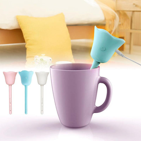 USB Tulip Mini Humidifier - Cyber Zone Online