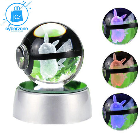 Image of Pokemon LED Crystal Lamp - Cyber Zone Online