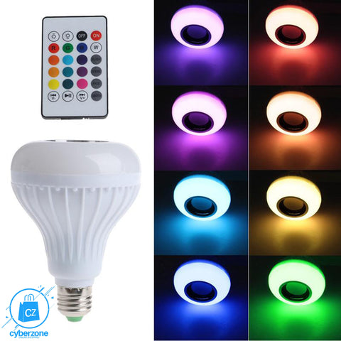 Wireless Bluetooth Light Bulb Speaker - Cyber Zone Online