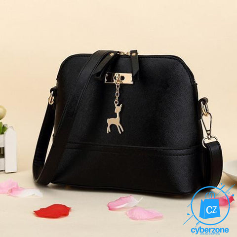 Image of Women Fashionable Leather Shoulder Bag - Cyber Zone Online