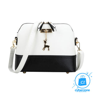Women Fashionable Leather Shoulder Bag - Cyber Zone Online