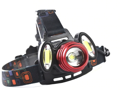 Image of 8000 Lumens LED Waterproof Headlight Zoomable