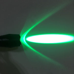 AloneFire E17 Green Flashlight