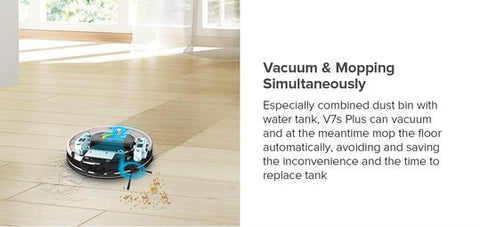 Image of ILife v7s Plus High End Self Charging Robot Vacuum Cleaner