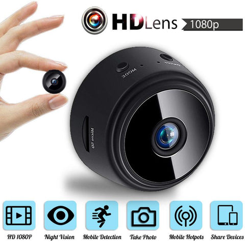 Image of Mini HD Magnetic Spy Camera 1080P