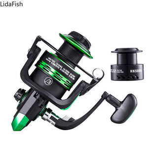 High Speed Double Spool Spinning Fishing Reel