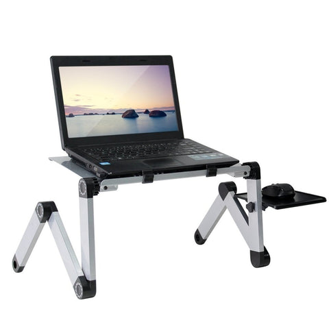 Image of Ergonomic Aluminum Adjustable Stand for Laptop