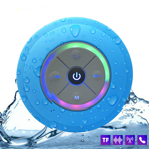 Image of Cyber-Zone LED Portable Shower Bluetooth Speaker
