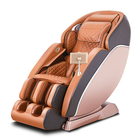 Image of Intelligent full-automatic luxury massage chair multifunctional curved guide 3D movement household electric sofa