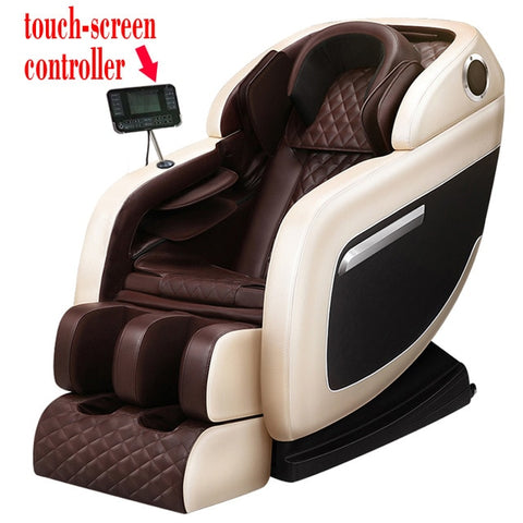 Small Space Luxury Full Body Multi-functional Elderly Device Electric Cheap Large Cap Foot Wrap Deluxe Zero-gravty Massage Chair