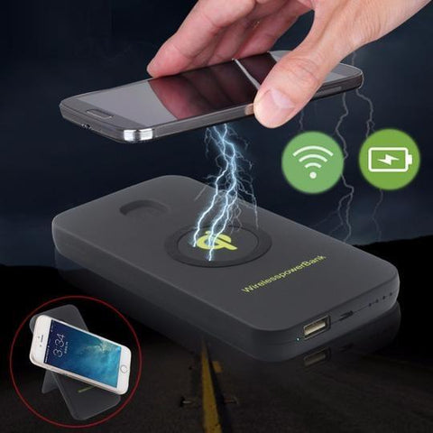 Image of USB Wireless Power Bank 6000mAh For Cell Phones - Cyber Zone Online