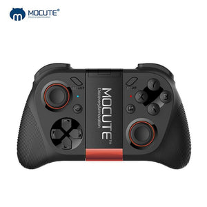 Game Pad Android Joystick Bluetooth Controller Selfie Remote Control Shutter Gamepad for PC Smart Phone + Holder - Cyber Zone Online