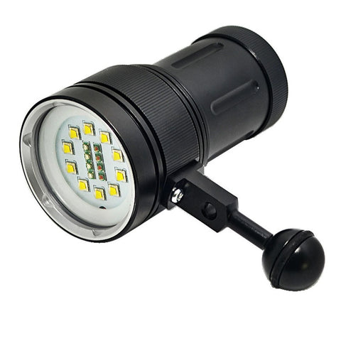 Image of New 12000LM LED Scuba Diving Flashlight